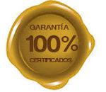 Los certificados de cada producto se pueden ve en los detalles de la ficha de l producto