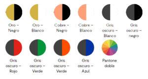 Colores-Belt Pendrivers personalizado con estos colores