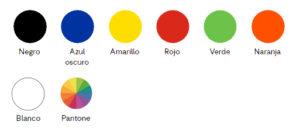 Colores-Thin Plantilla-Thin Power Bank Personalizado Thin