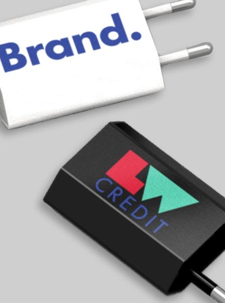 Adaptador Enchufe Personalizado USB Básico