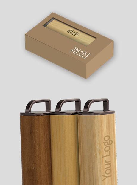Plantilla-Timber- power bank personalizado wood