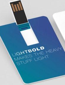 Pendrive Personalizado Slim Card