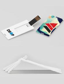 Pendrive Personalizado Thin Card