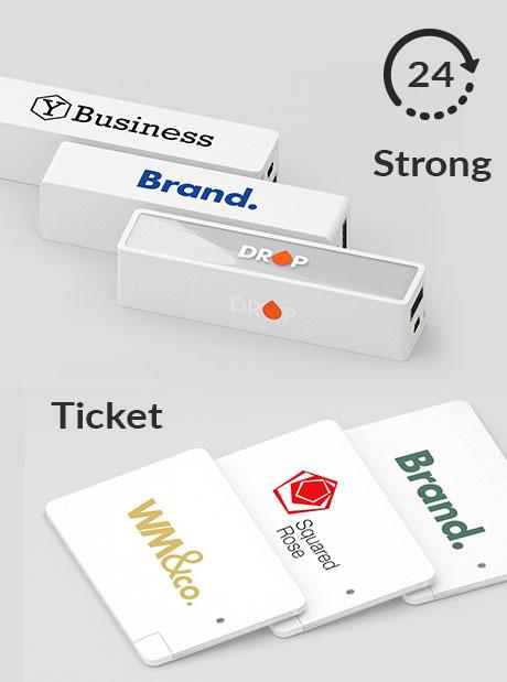 Power Bank Personalizado Strong / Ticket 24h