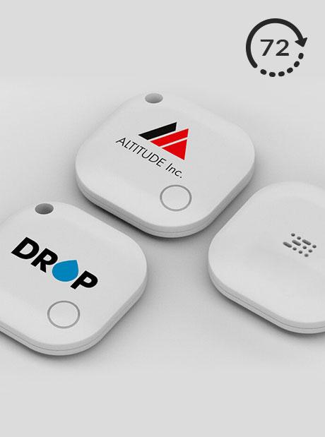 Localizador Personalizado Tracker Bluetooth Square 72h Publicitarios