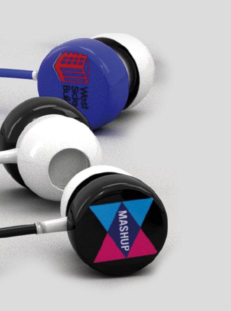 Auriculares Personalizados Cascos Button