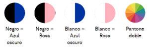 Colores prsonalización cargador de coche Label