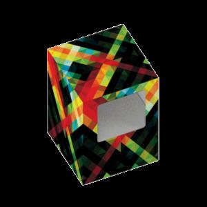 envase personalizado para altavoz Cube