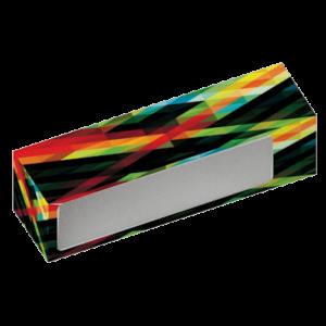 Cajita de cartulina diseñado a medida para contener el producto altavoz retro Living personalizado