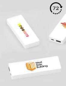 Power Bank Personalizado Tile 72h Cargadores impresos Publicitarios