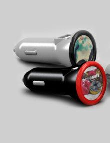 Cargador Coche USB Personalizado Ring