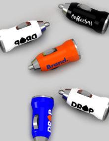 Cargador Coche USB Personalizado Roll