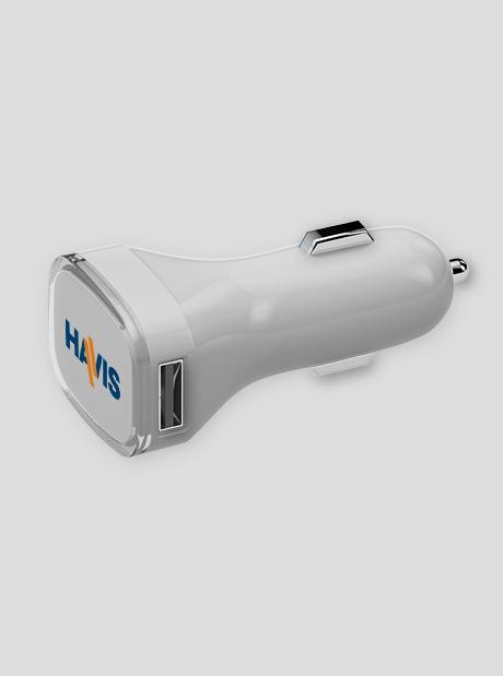 Cargador Coche USB Personalizado Cuadrado