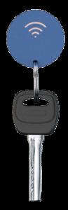 Localizador Personalizado Tracker Bluetooth Round Publicitariospromocionales