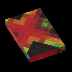 Caja de cartulina con soporte interno para producto y accesorios, personalizable con su propio logotipo o gráfico