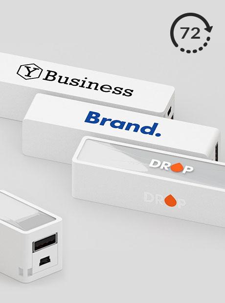 Power Bank Personalizado Strong 72 Cargadores impresos Publicitarios