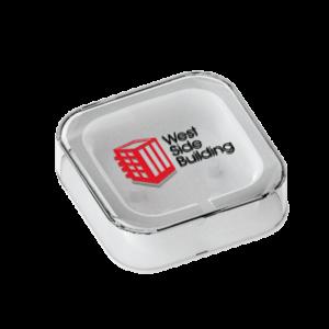 Plantilla Áreas de impresión auriculares button personalizados